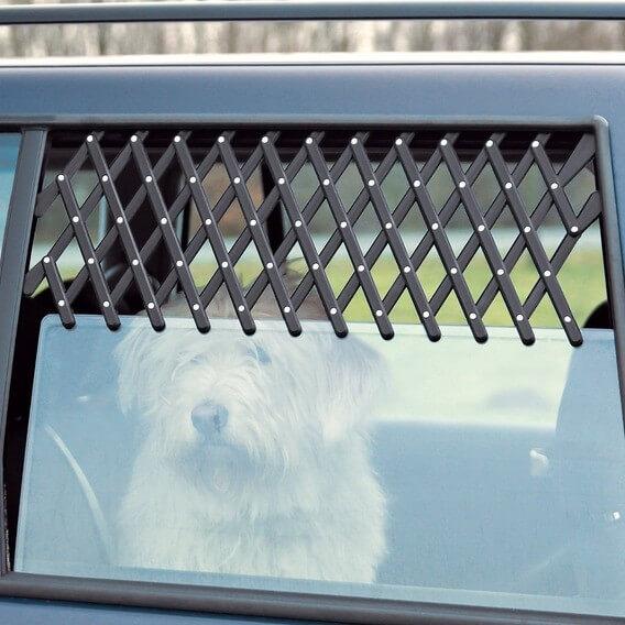 Grille d 39 a ration pour voiture accessoires voiture chien - Grille pour chien en voiture ...