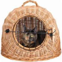 Panier de transport chat en osier IGLOO
