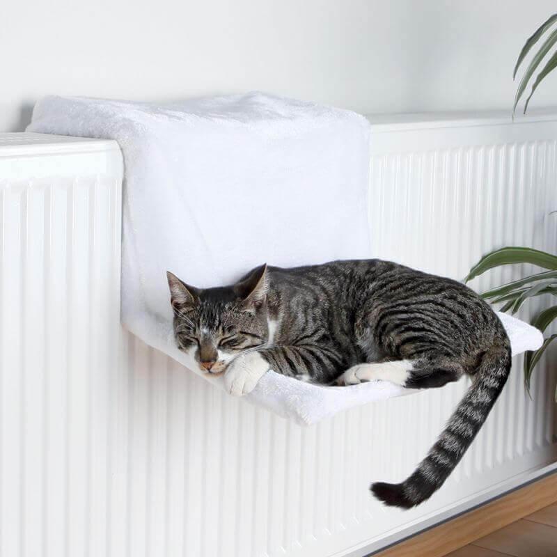 Hamaca para radiador Deluxe para gatos