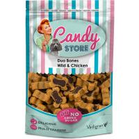 Friandise chien candy duo bones gibier & poulet