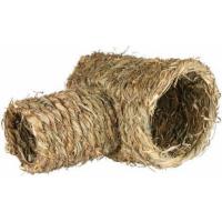 Tunnel en herbe avec fermeture