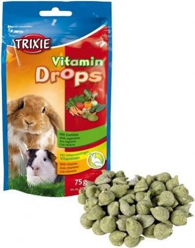 Pastilles vitaminées aux légumes pour rongeurs