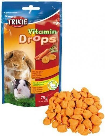 Suplemento vitamínico a base de verduras para roedores