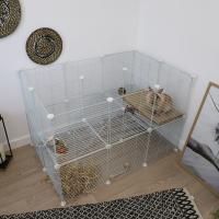 Recinto modular Jolly - Conjunto completo para coelhos, roedores