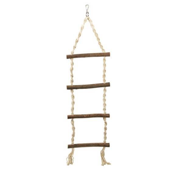 echelle corde accessoires pour cage. Black Bedroom Furniture Sets. Home Design Ideas