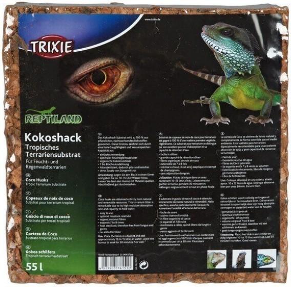 Bloc de fibre de coco naturel pour Reptile Pet Snake Lizard Terrarium