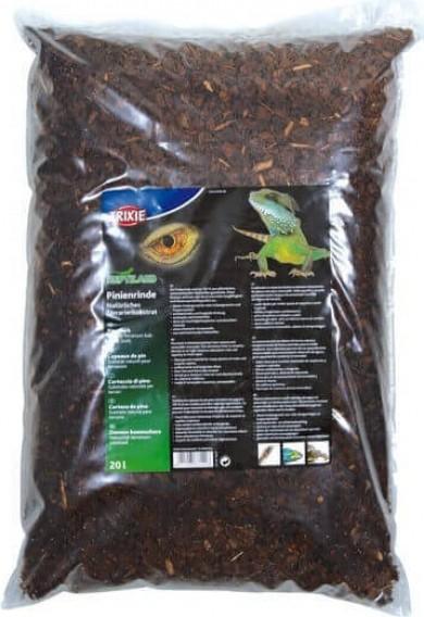 Substrat naturel pour reptiles copeaux de pin