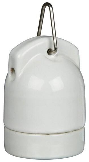 Portabombilla de porcelana Pro Socket_0