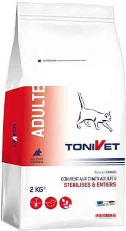 TONIVET für erwachsene Katzen(sterilisiert oder nicht) mit Ente