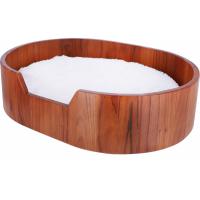 Holzkorb mit Kissen Zolia Nesty