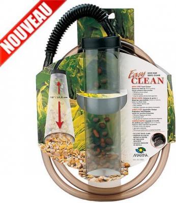 Cloche de siphonnage pour aquarium Easy Clean  - nettoyage du gravier