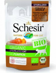 Schesir Bio natvoer voor volwassen katten