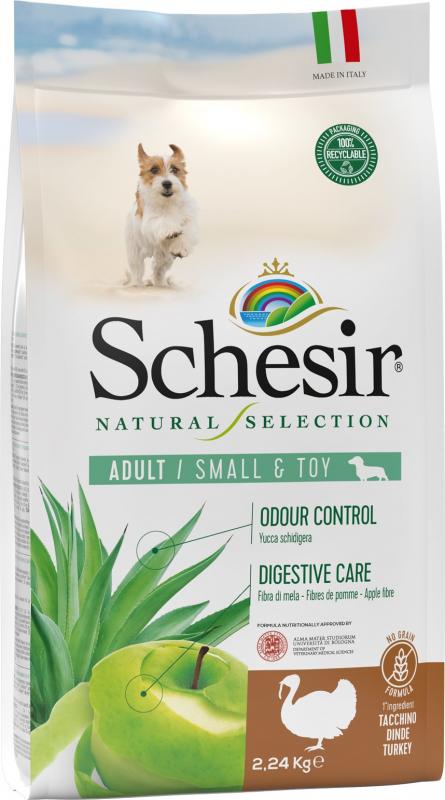 Schesir Natural Selection Adulte Petit Chien Dinde No Grain