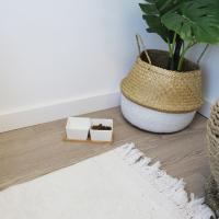 Gamelle double en céramique support bambou Zolia Daku