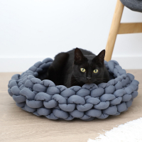 Cesta de punto para gatos Zolia Knitty