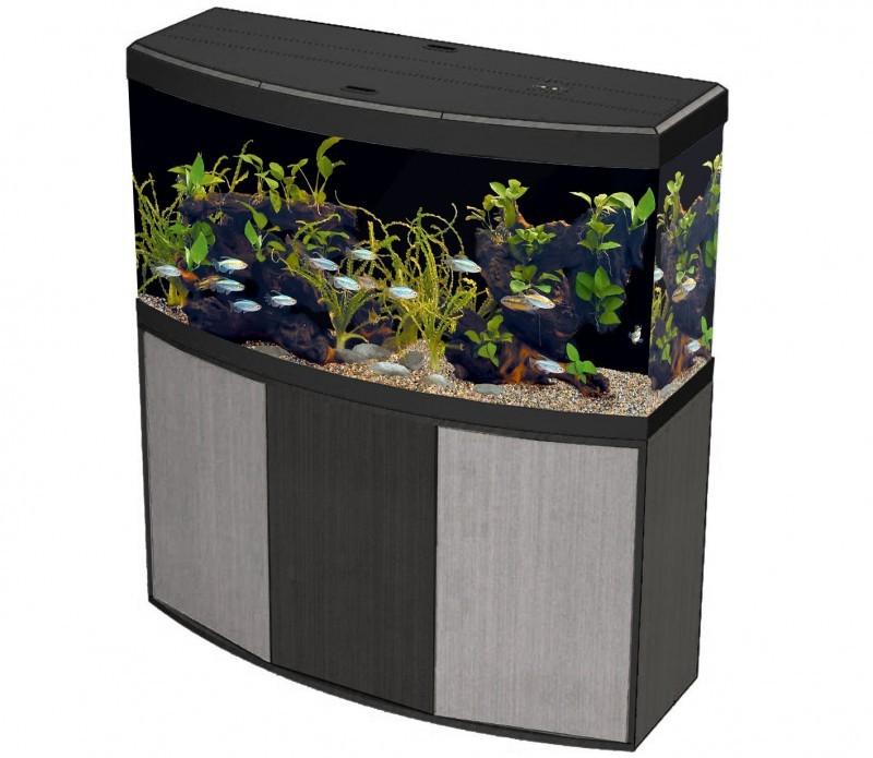 Aquarium vicenza 260 248l avec meuble aquarium et meuble for Meuble aquarium