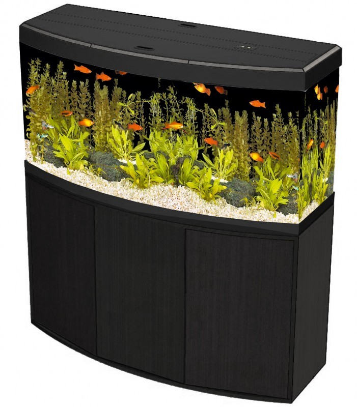 aquarium vicenza 260 248l avec meuble aquarium et meuble. Black Bedroom Furniture Sets. Home Design Ideas