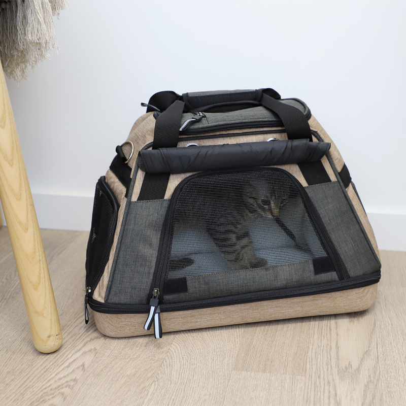 Sac de transport avec panier pour chat Zolia Louxor
