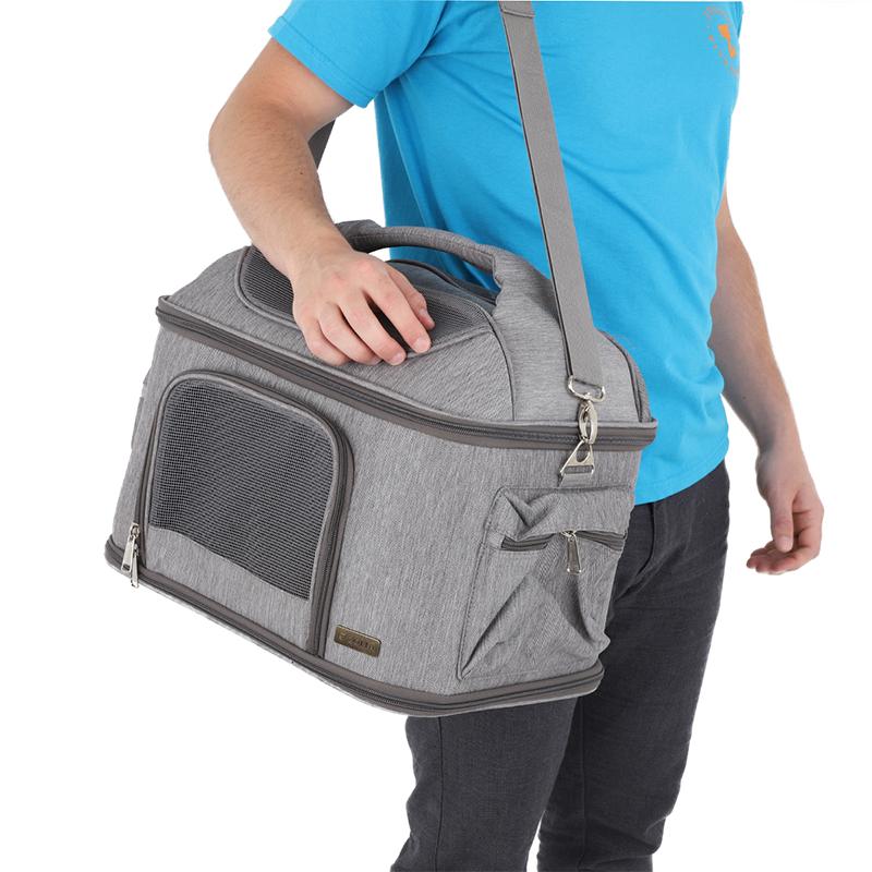 sac de transport caractéristique