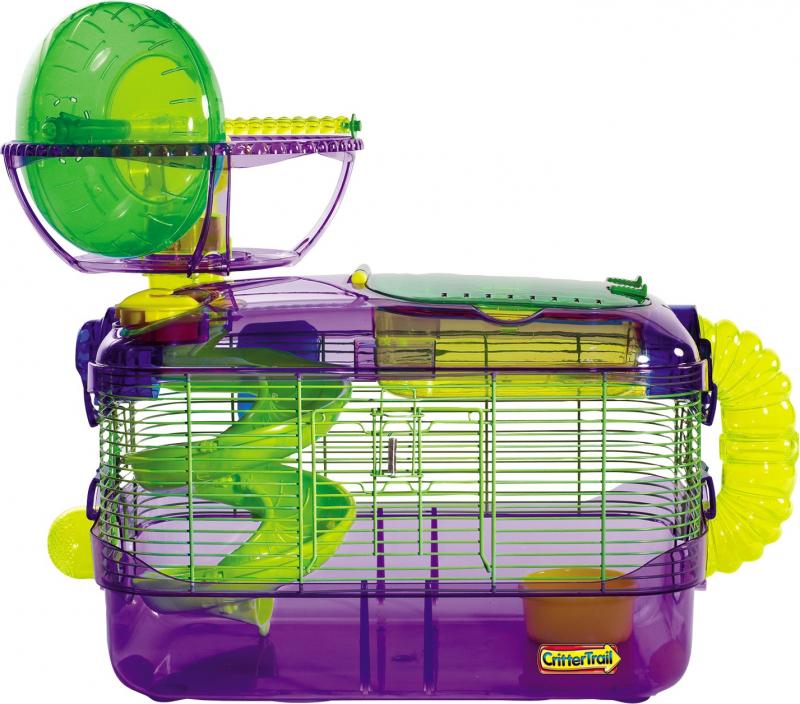 Cage hamster/souris/gerbille Crittertrail extrême challenge habitat