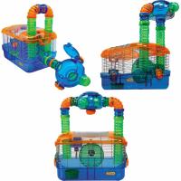 Käfig für Hamster / Maus / Rennmäuse Triple habitat