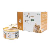 QUALITY SENS HFG Jelly - Pâtées en gelée 100% Naturelles 85g pour Chat & Chaton - 6 recettes au choix