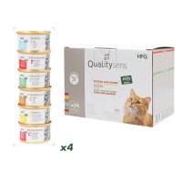 QUALITY SENS HFG Multipack Jelly Natvoer in gelei Cat & Kitten