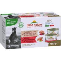 ALMO NATURE Multipack HFCComplete pour chien 4 x 95gr - plusieurs saveurs disponibles