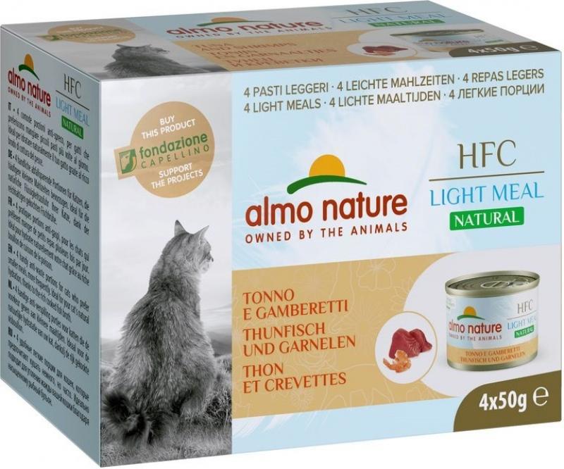 ALMO NATURE Multipack HFC Light Meal 4 x 50gr