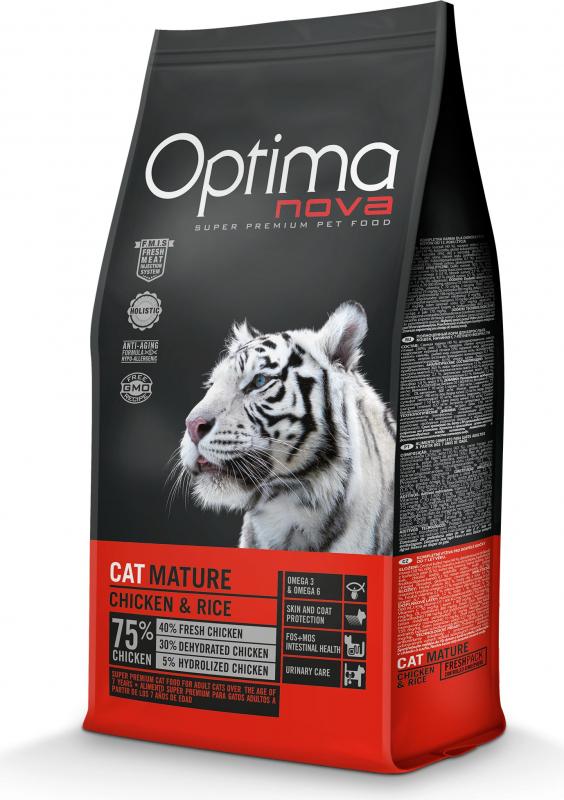 OPTIMANOVA Cat Mature, poulet et riz