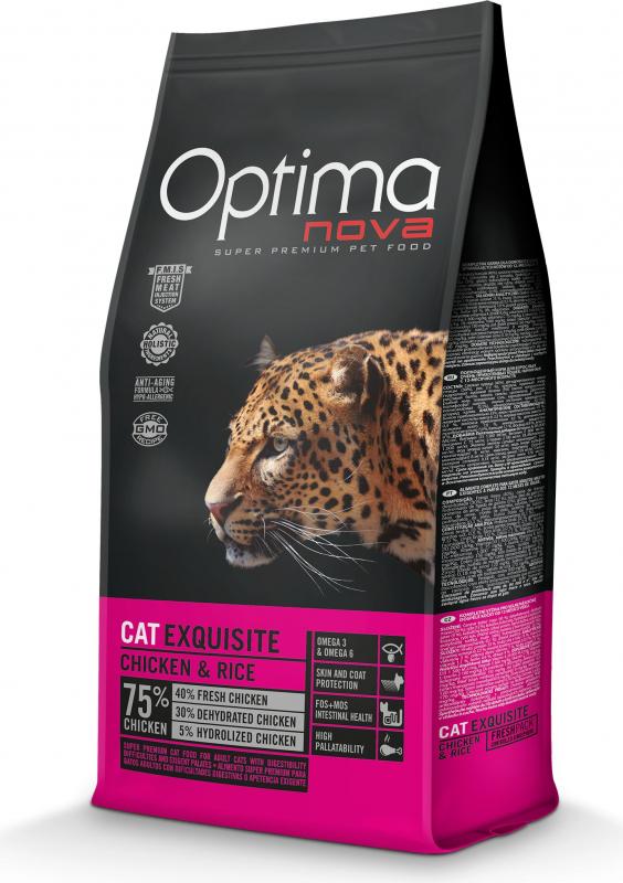 OPTIMANOVA Cat Exquisite, poulet et riz