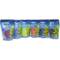 Gravier Marina couleurs 450g pour aquarium