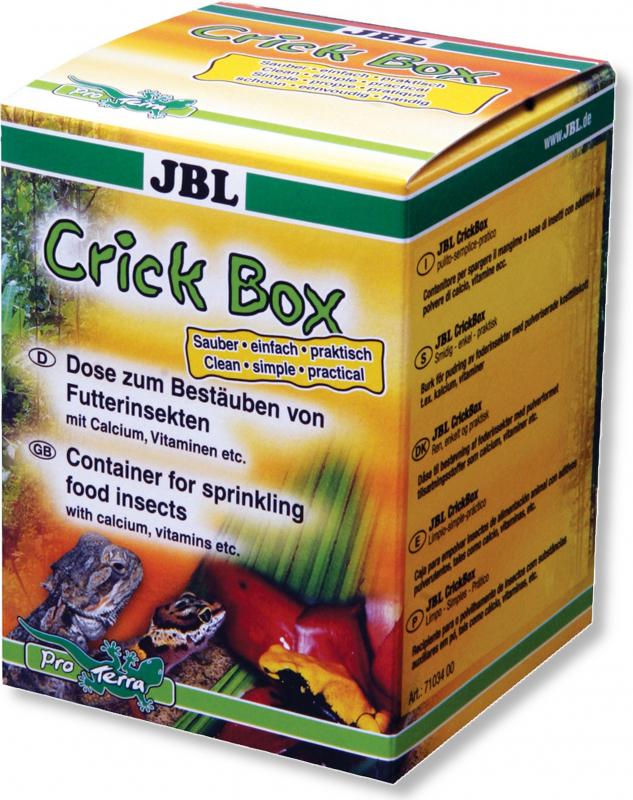 JBL CrickBox, Boîte à saupoudrer les insectes alimentaires pour reptile