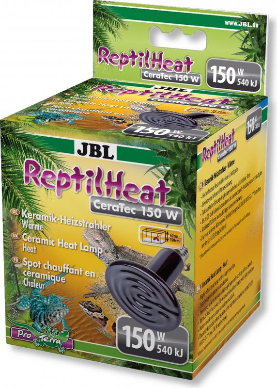 JBL ReptilHeat Lampe chauffante en céramique - plusieurs modèles disponibles