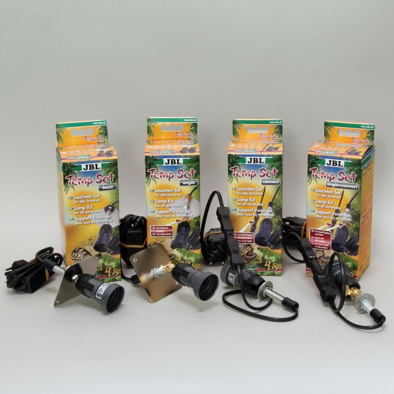 Support d'éclairage pour terrarium JBL TempSet - plusieurs modèles disponibles