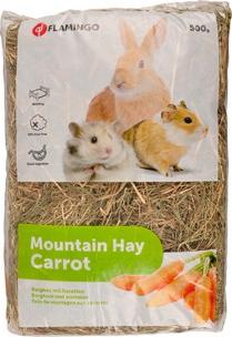 Foin de montagne avec carottes - 500g