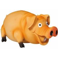 Cochon poilu garni de mousse
