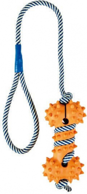 Toy with Phosphorescent Rope, Natural Rubber