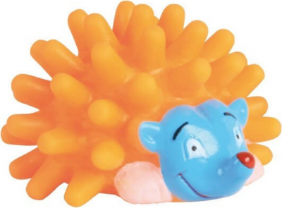 Hedgehog Rubber Toy