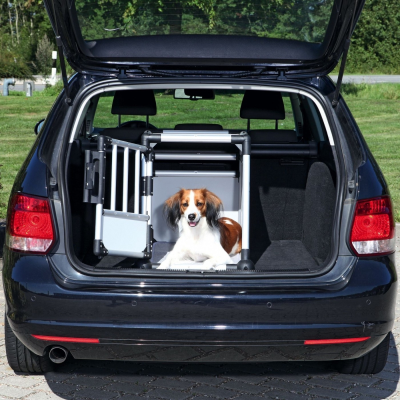 Caisse de transport pour chien voiture