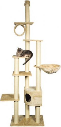 Madrid Floor To Ceiling Cat Scratching Post System Cat
