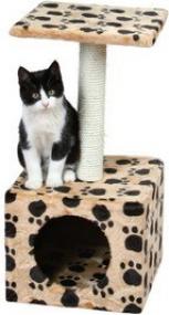 Arbre à chat Zamora traces de pattes - 61cm