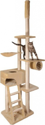 Zaragoza Floor to Ceiling Scratching Post System