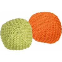 Set de balles tricotées