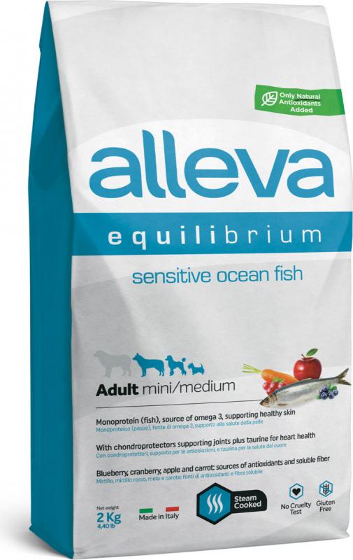 ALLEVA Equilibrium au poisson pour chien sensible de petite et moyenne taille