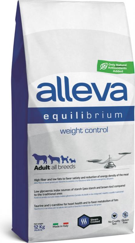 ALLEVA Equilibrium Weight Control au poulet pour chien de petite et moyenne taille