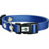 Collier Spotted Bleu pour chien Bobby