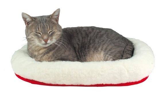 Cojín mullido y reversible para gatos