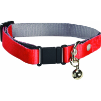 Collier Spotted Rouge pour chat Bobby