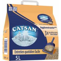 Litière Catsan Agglomérante Plus 5L
